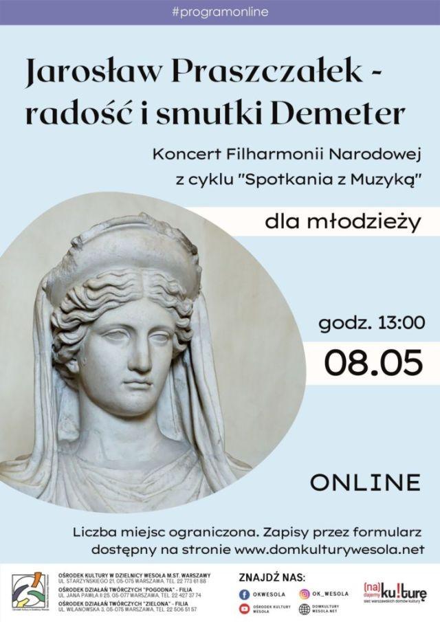 Plakat z Demeter.
