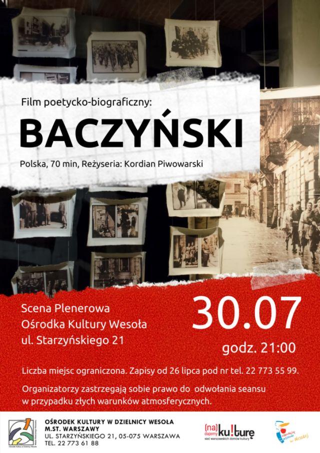 Plakat ze starymi zdjęciami i informacjami o wydarzeniu.